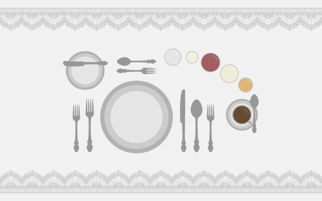 Dinner table wallpaper