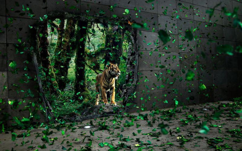 Brave tigre apparition wallpaper