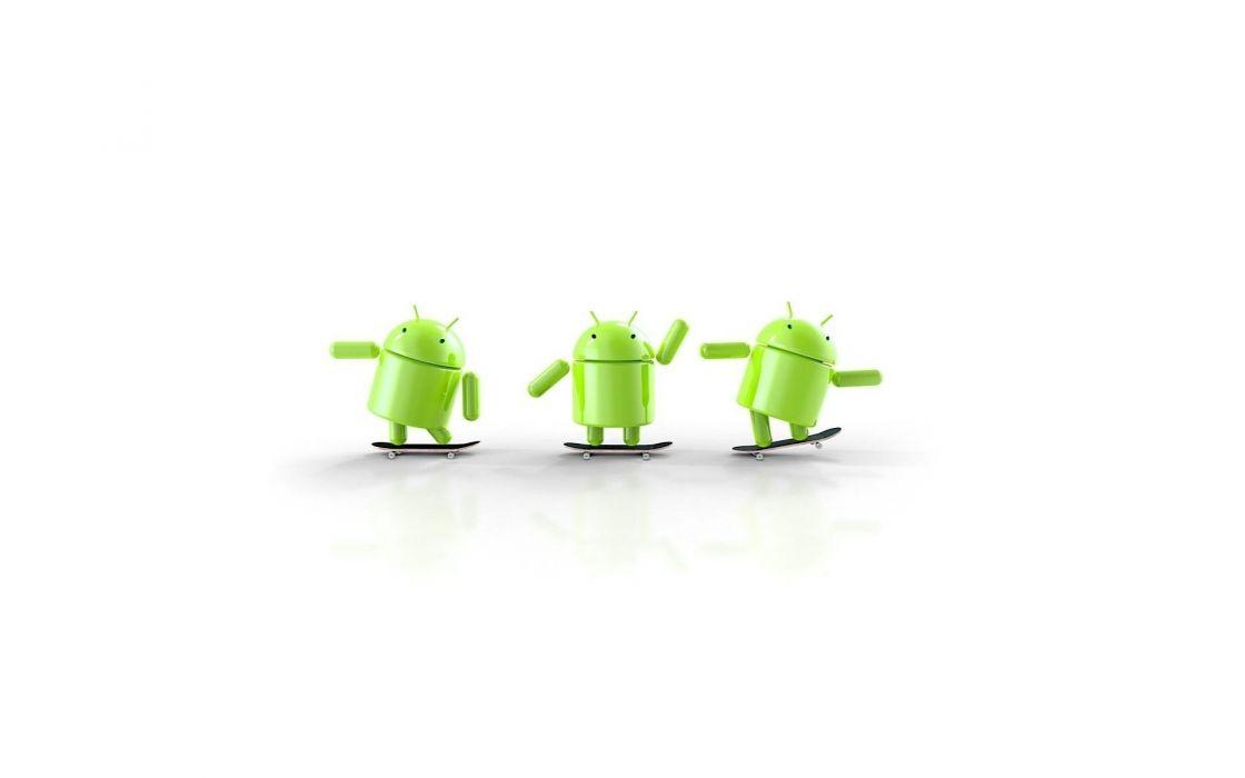 Android skateboarding wallpaper