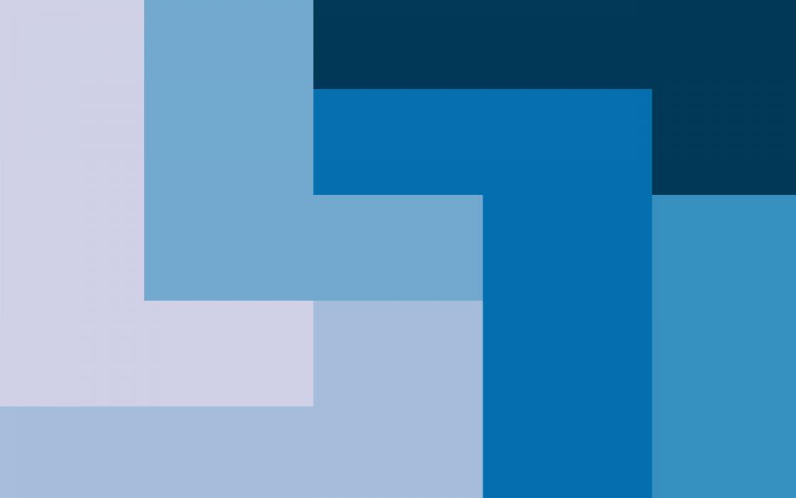 Blue progression wallpaper