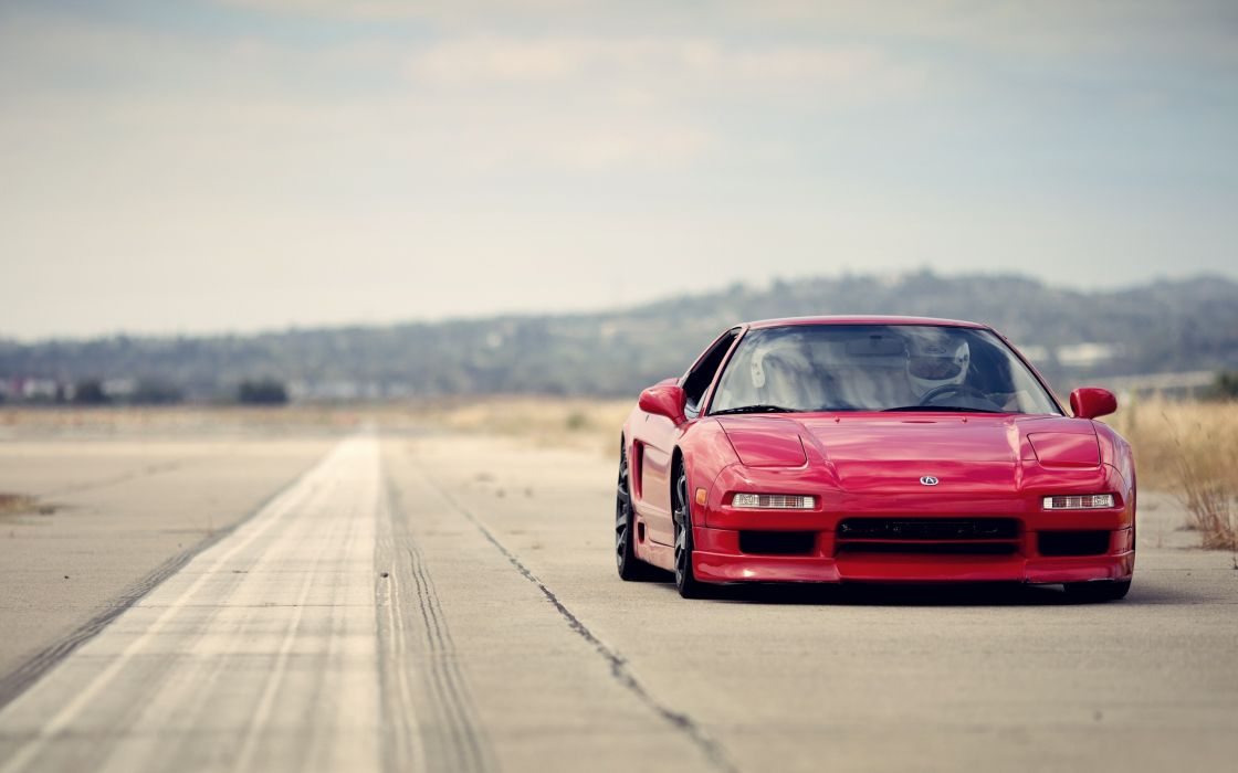 Red acura nsx wallpaper