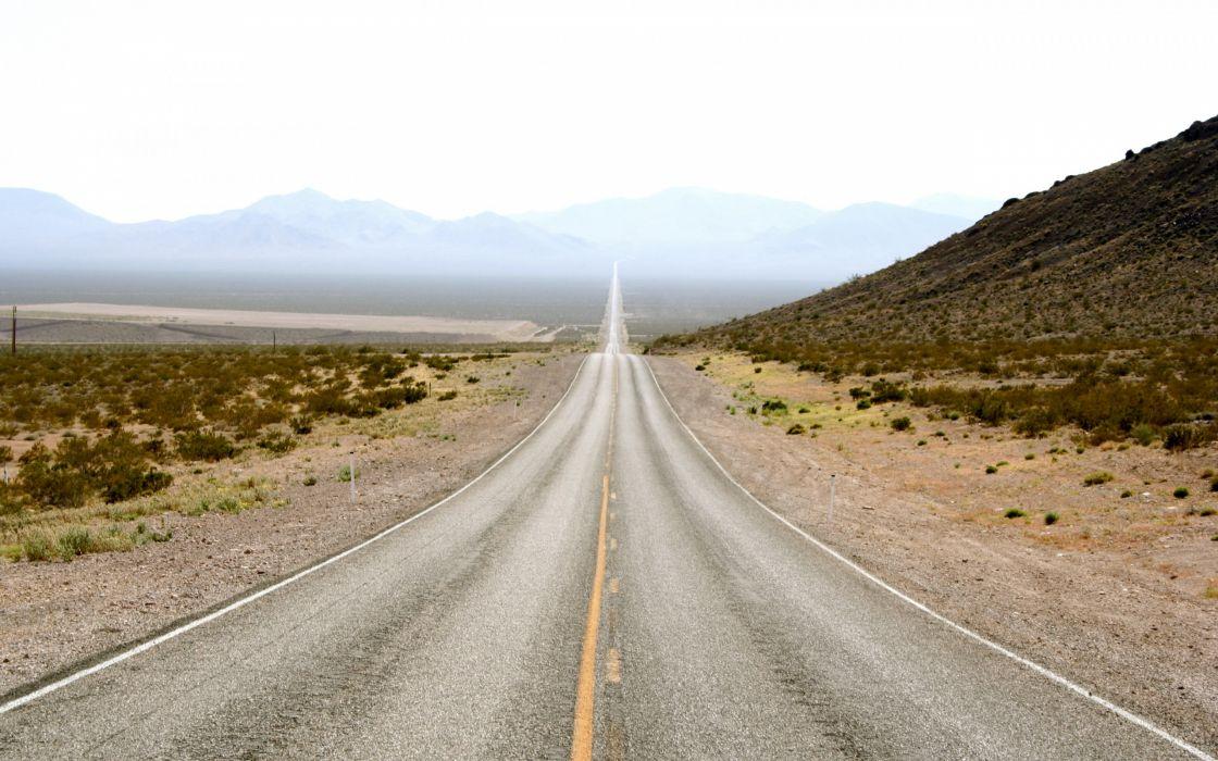 Long road ahead wallpaper