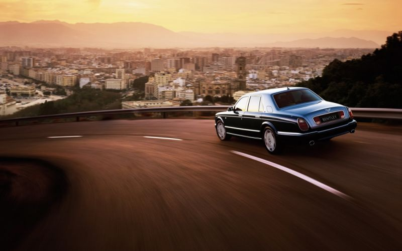 Bentley arnage rear and side wallpaper