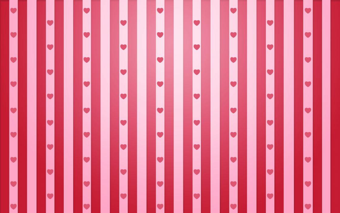 Valentine stripes wallpaper
