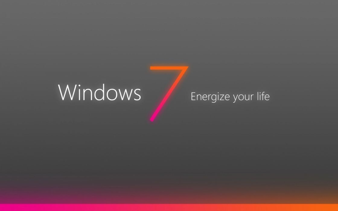 Windows 7 energize wallpaper
