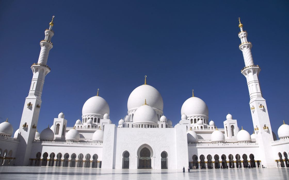 Grand Mosque Abu Dhabi wallpaper
