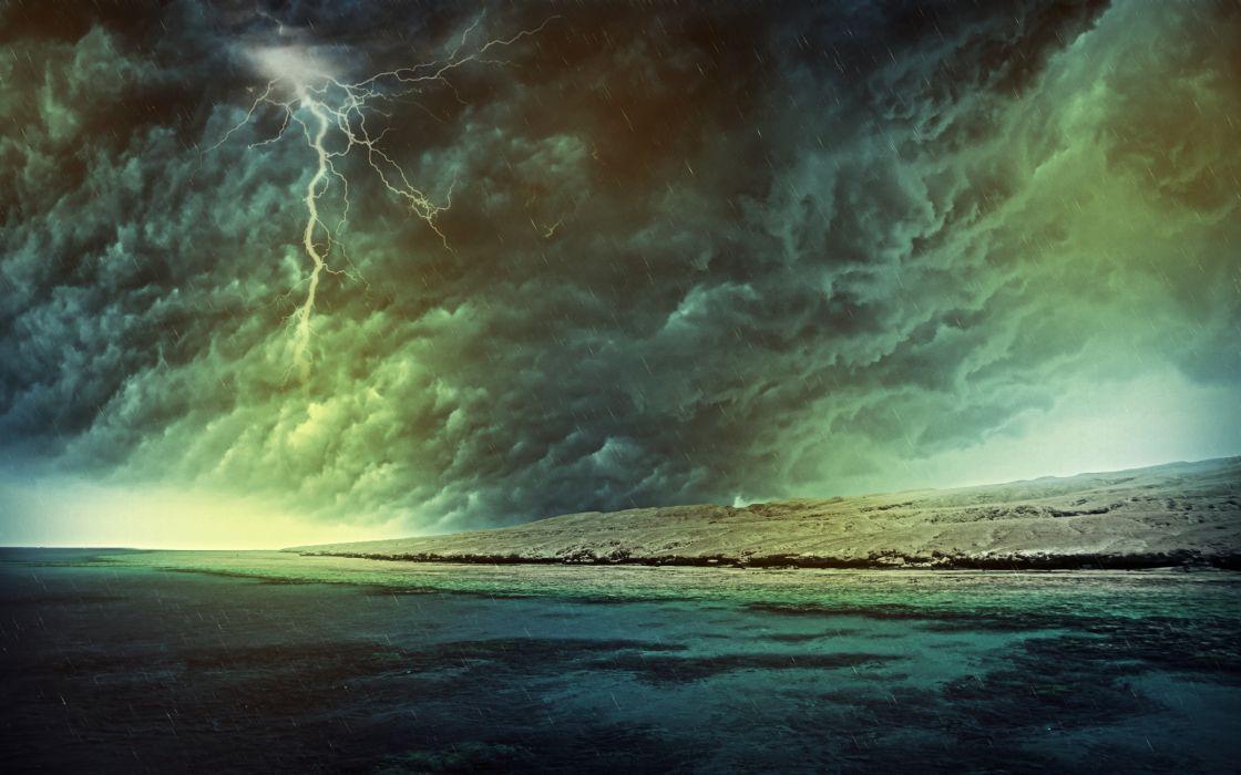 Storm hdr wallpaper