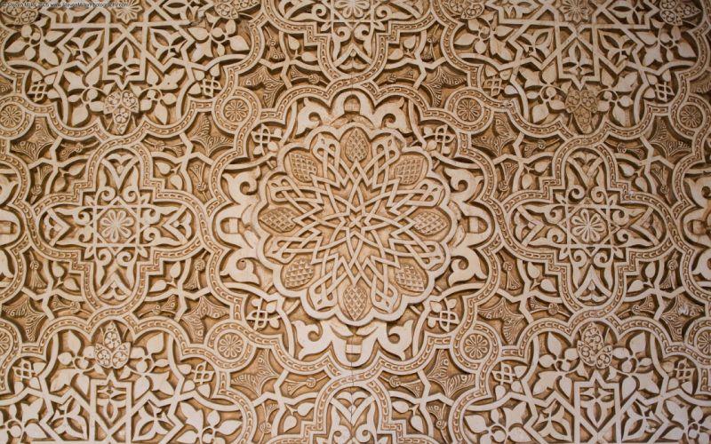 Inside alhambra wallpaper