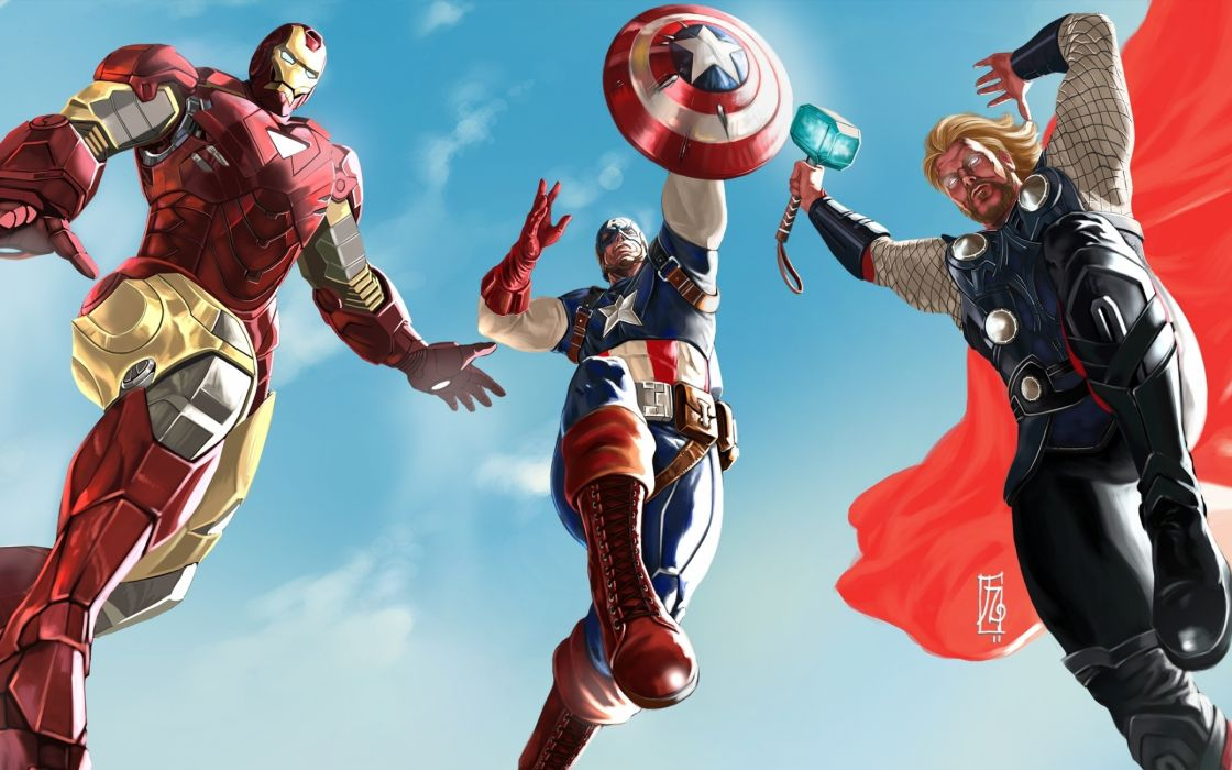 The avengers 2012 wallpaper