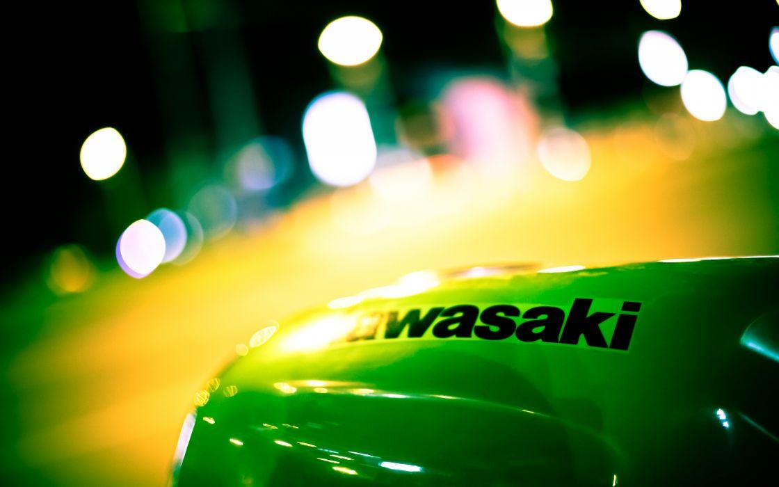 Kawasaki badge wallpaper