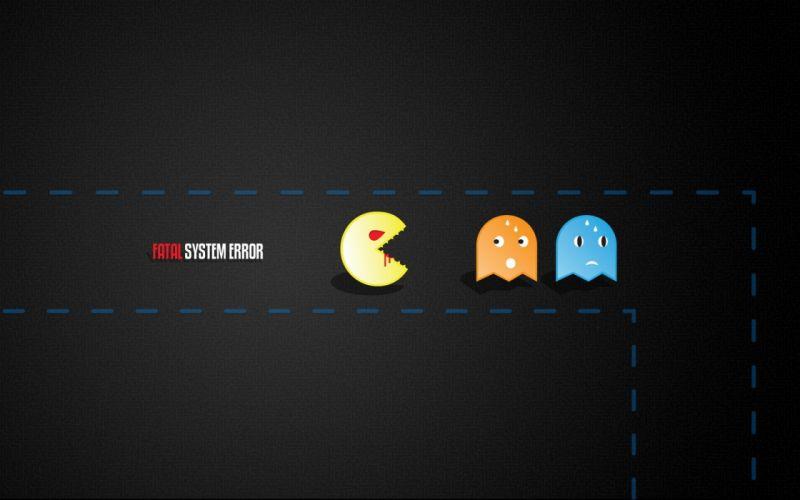 Pacman flash wallpaper