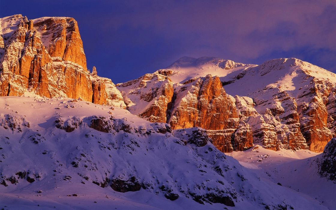 Sella group mountains wallpaper