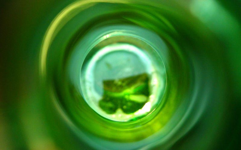 Green circles wallpaper