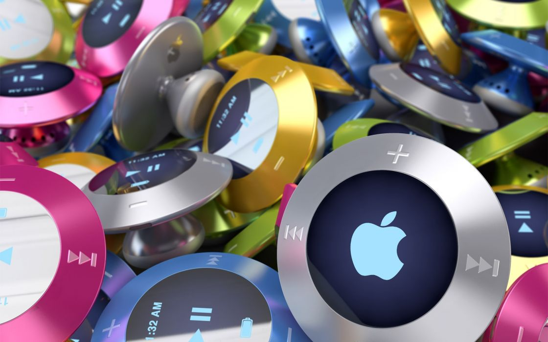 Apple ipod air concept wallpaper