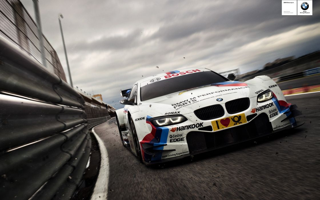 Bmw racing car wallpaper