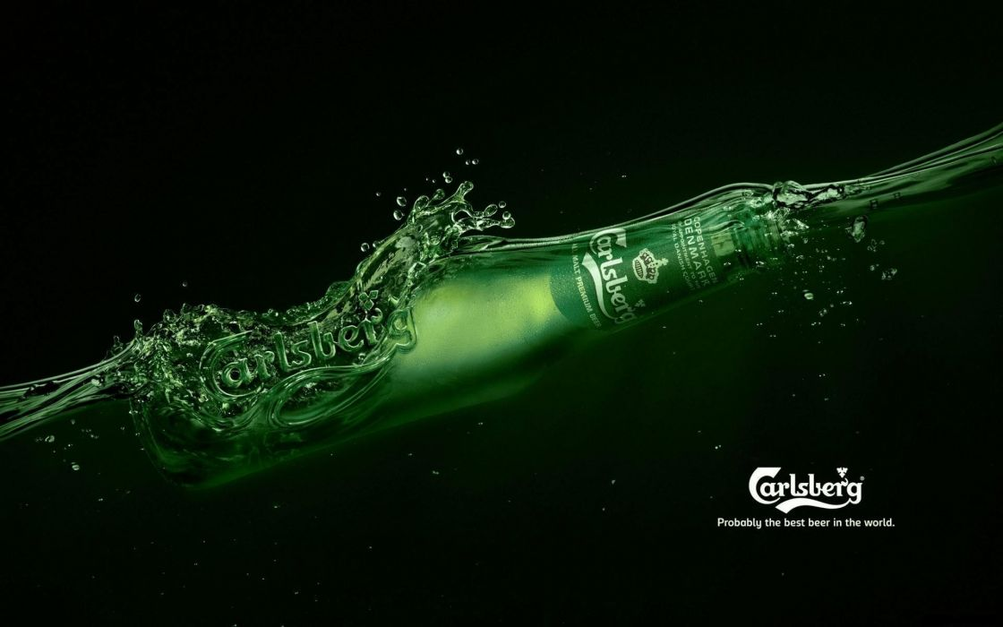 Carlsberg beer wallpaper