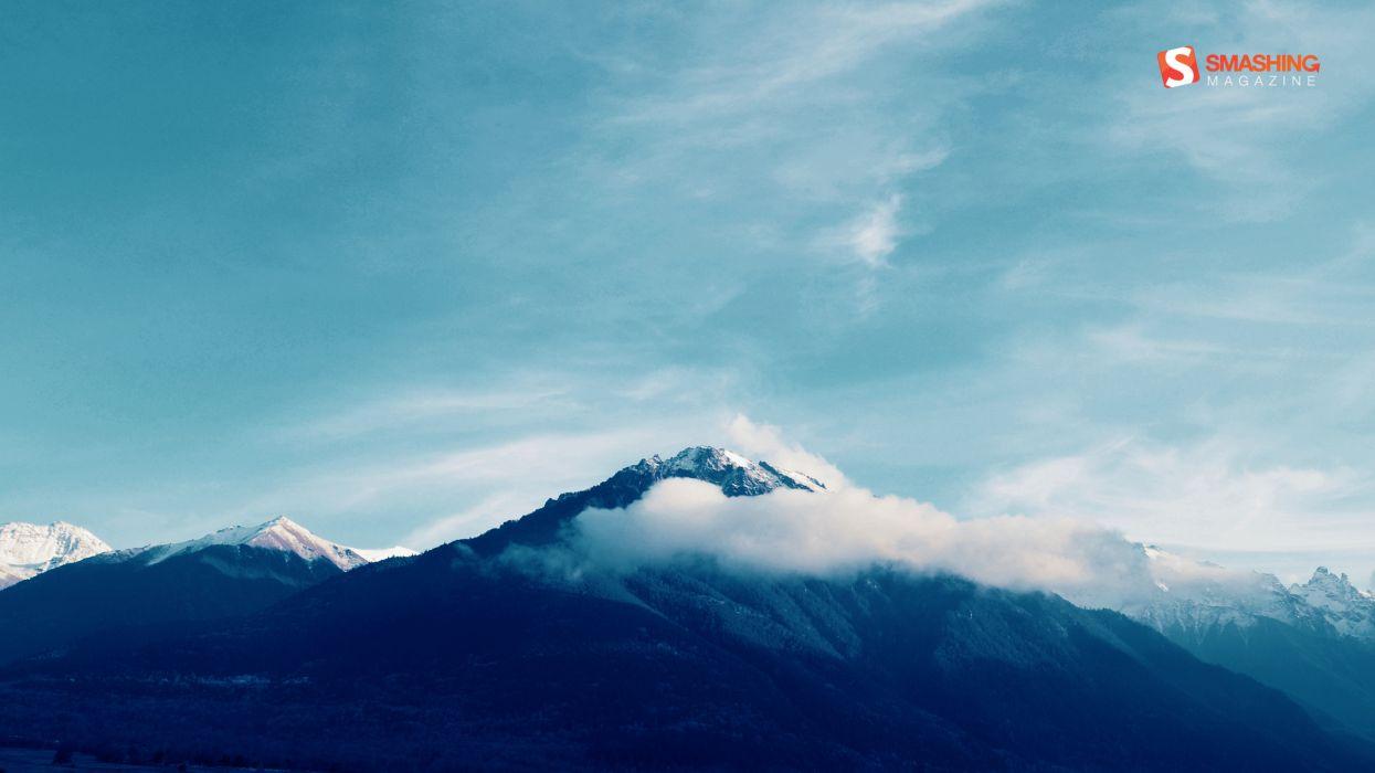 Caucasian mountains wallpaper