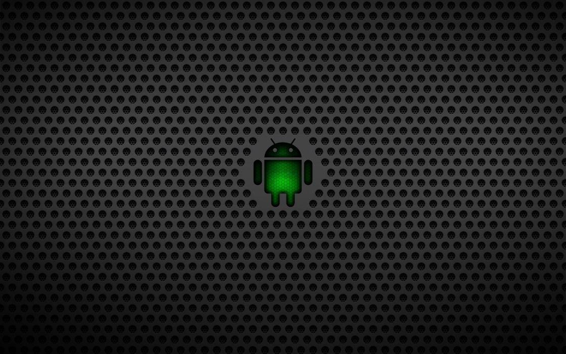 Android metal wallpaper
