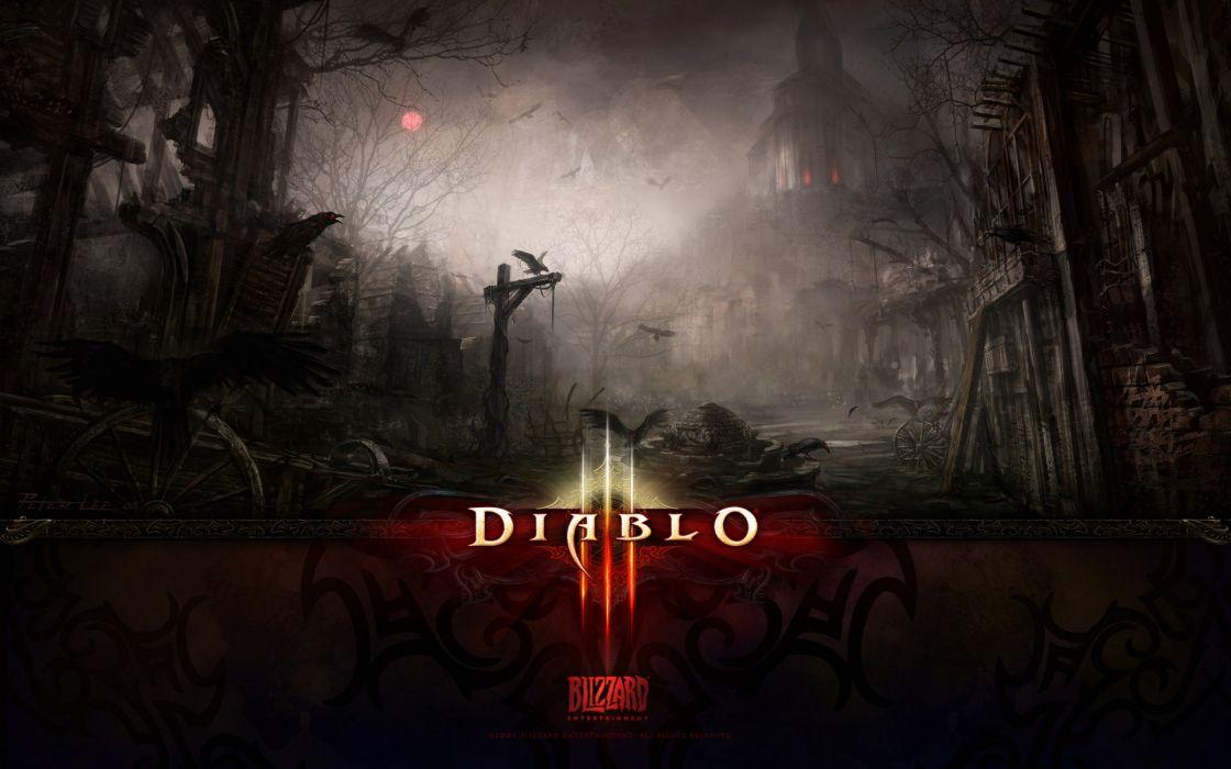 Dark Death Diablo 3 wallpaper