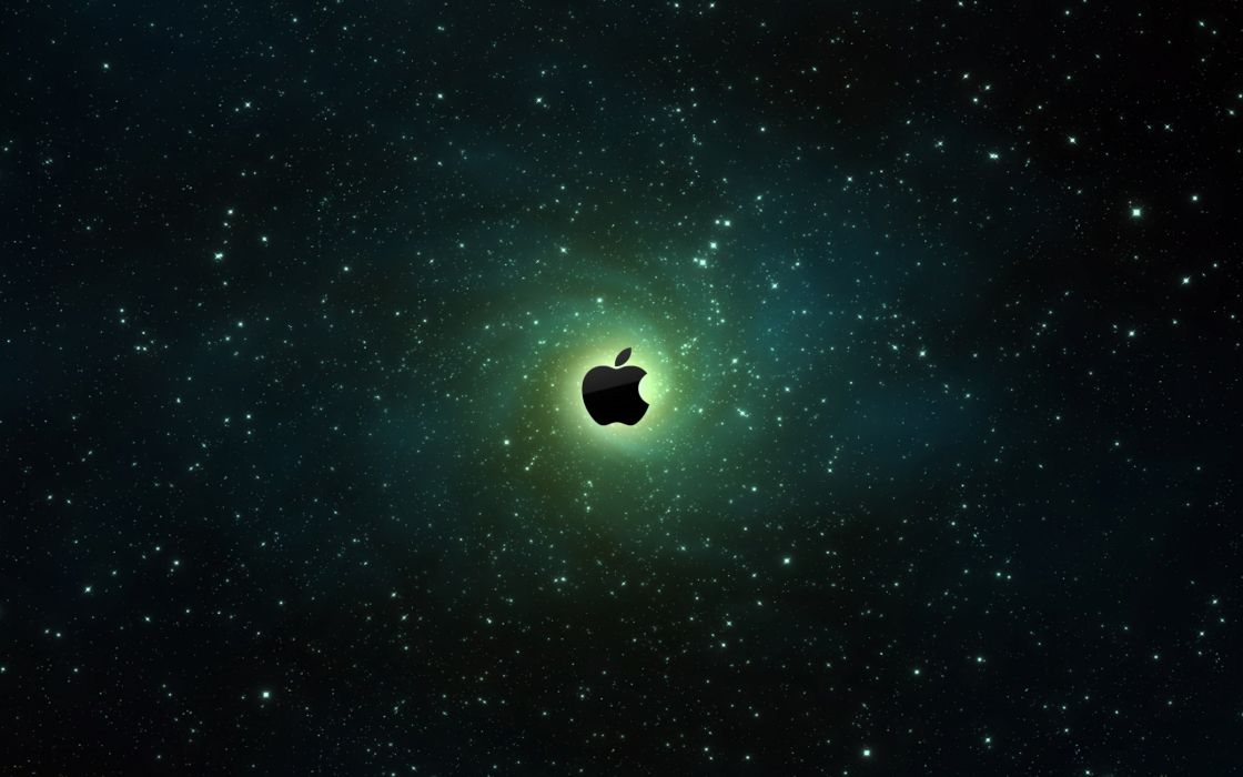 Apple vortex wallpaper