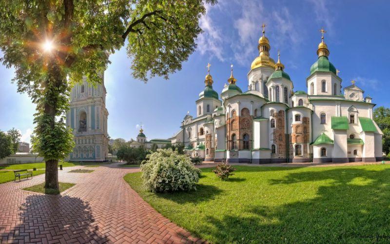 Saint sophia cathedral kiev wallpaper