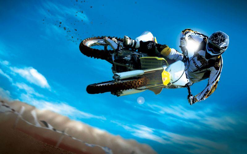 Extreme moto sport wallpaper