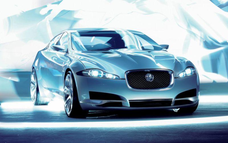 Jaguar c xf showroom wallpaper