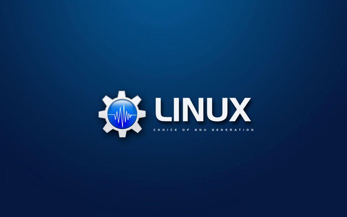 Linux logo wallpaper