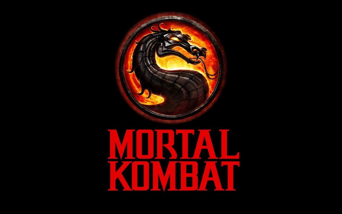 Mortal kombat logo wallpaper