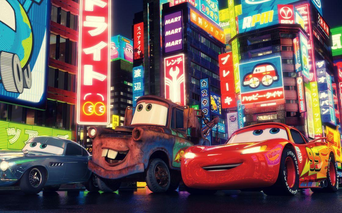 Cars 2 movie 2011 wallpaper
