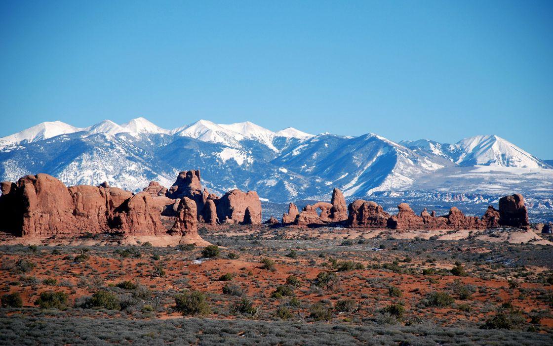 Moab mountains wallpaper