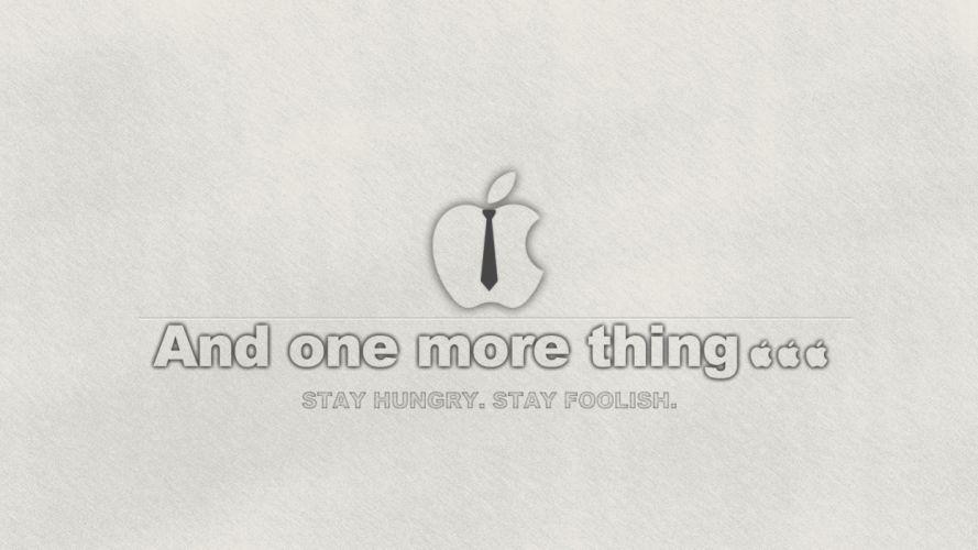 Grey apple wallpaper