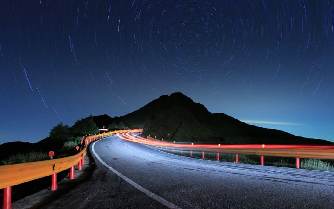 Speed road wallpaper