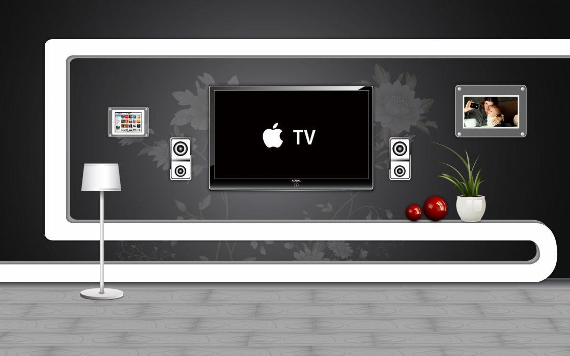 Apple iTv wallpaper