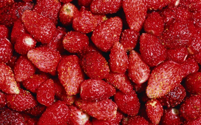 Tasty strawberry wallpaper