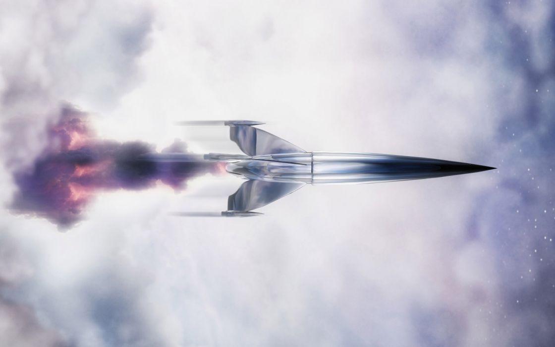 Rocket wallpaper