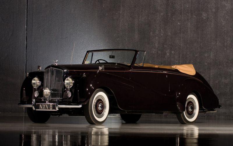 Bentley r type 1953 wallpaper