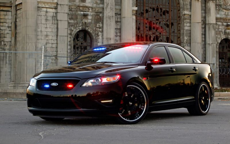 Ford stealth police interceptor wallpaper