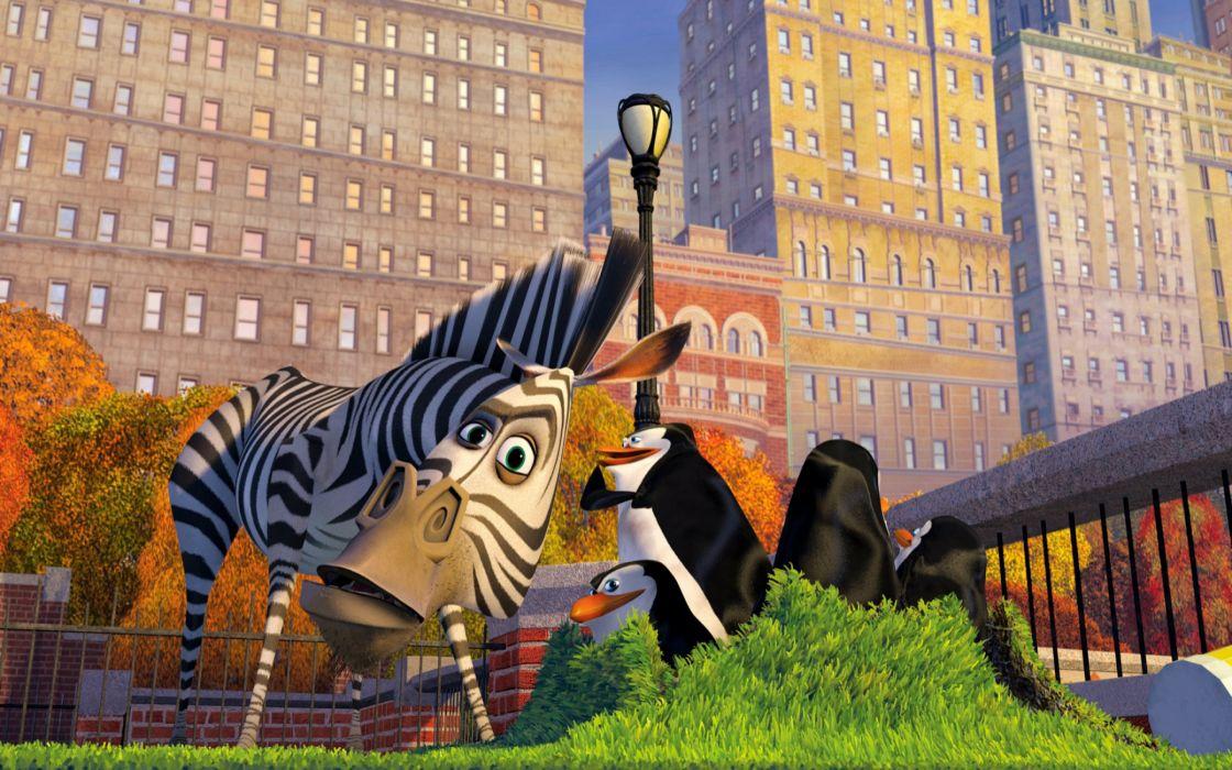 Madagascar characters wallpaper