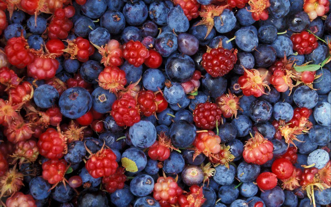 Alaska wild berries wallpaper