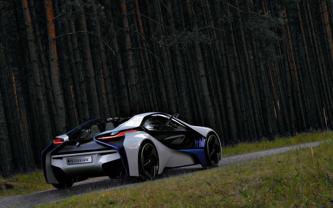 Amaizing BMW vision efficient concept wallpaper