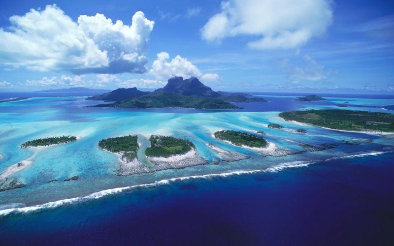Amazing island wallpaper