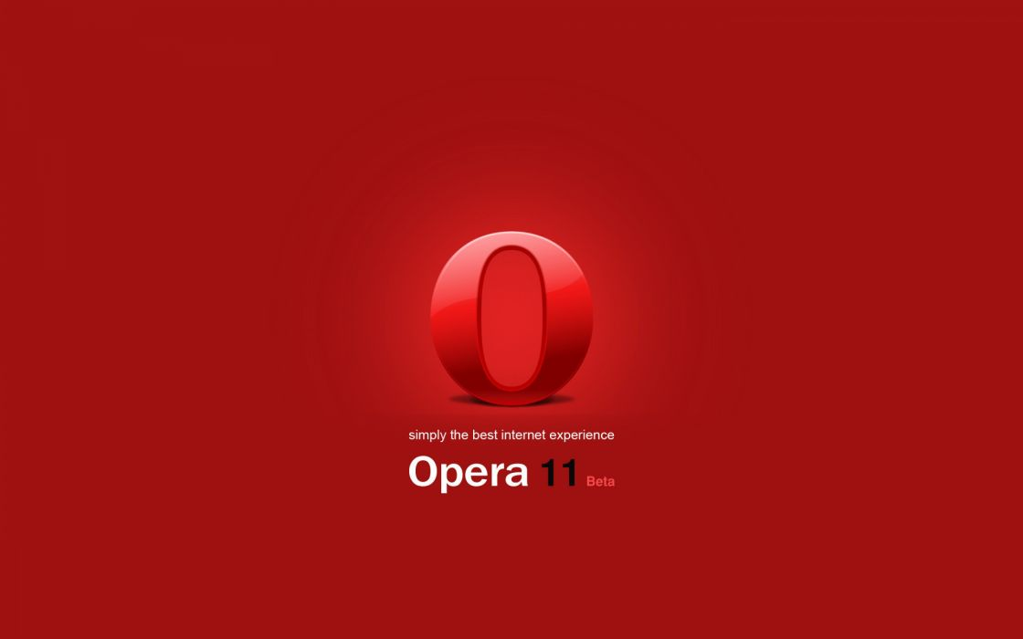 Opera 11 beta wallpaper