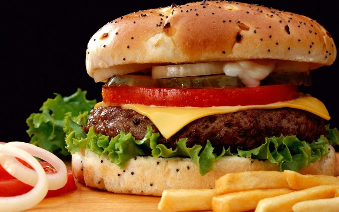 Cheeseburger wallpaper