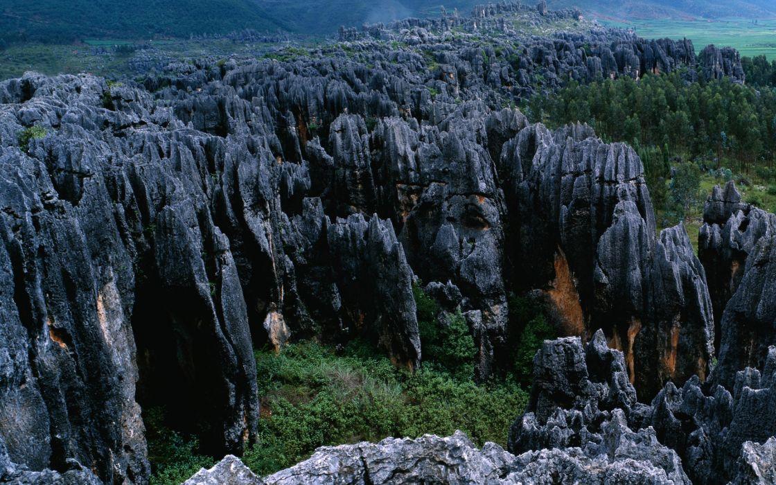 Black Rocks wallpaper