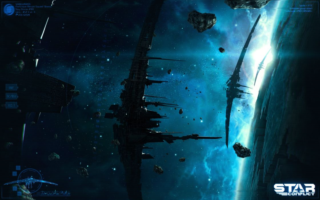 Star Conflict Game wallpaper