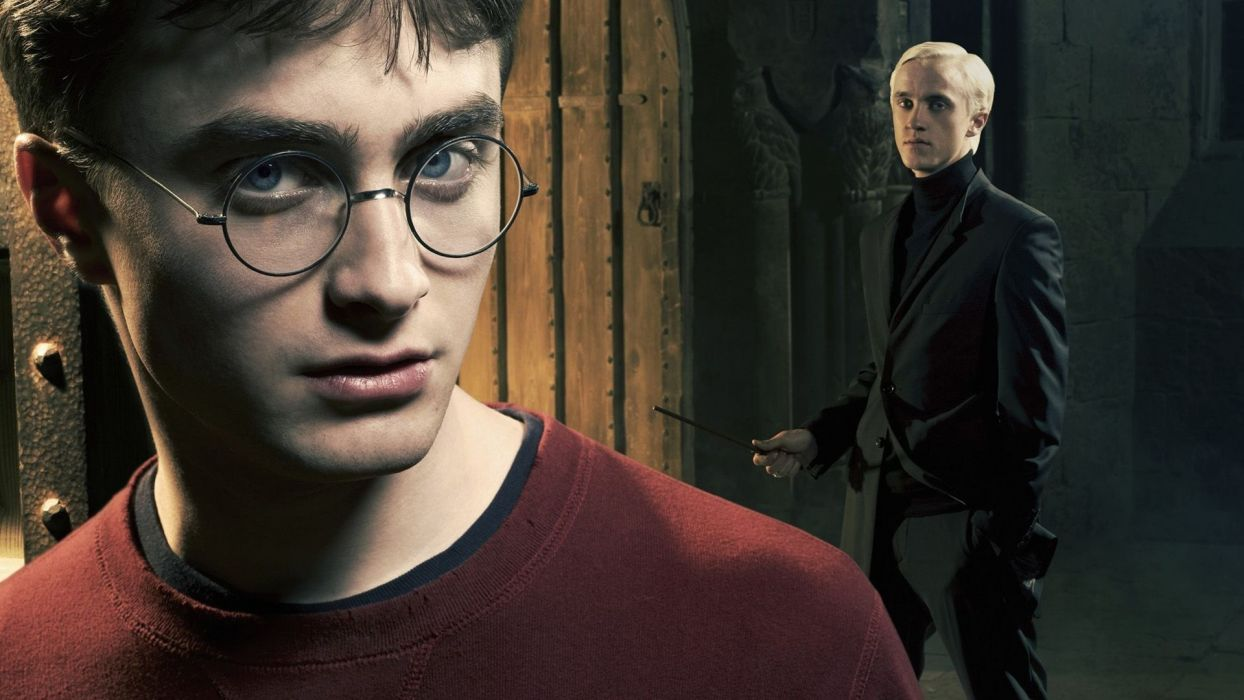 Harry Potter and Draco Malfoy wallpaper