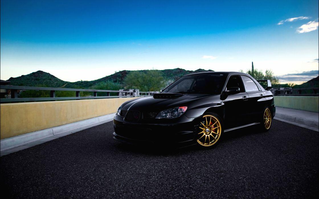 Subaru Impreza Wrx Black Wallpaper 2880x1800 4839 Wallpaperup