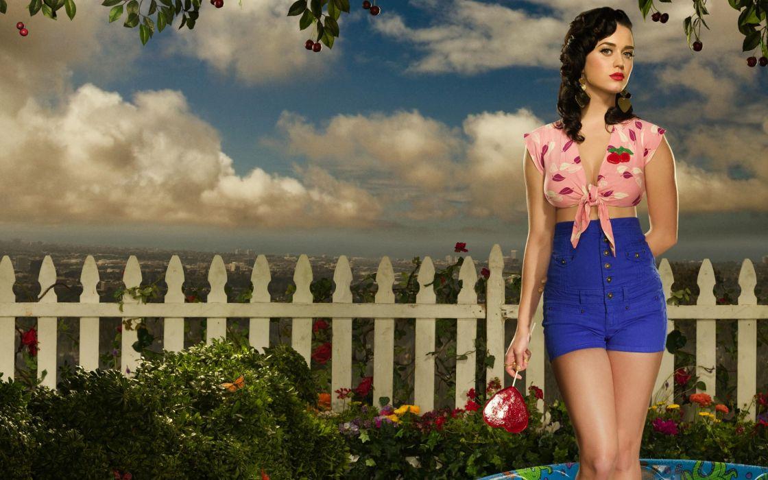 Katy Perry 2012 album wallpaper