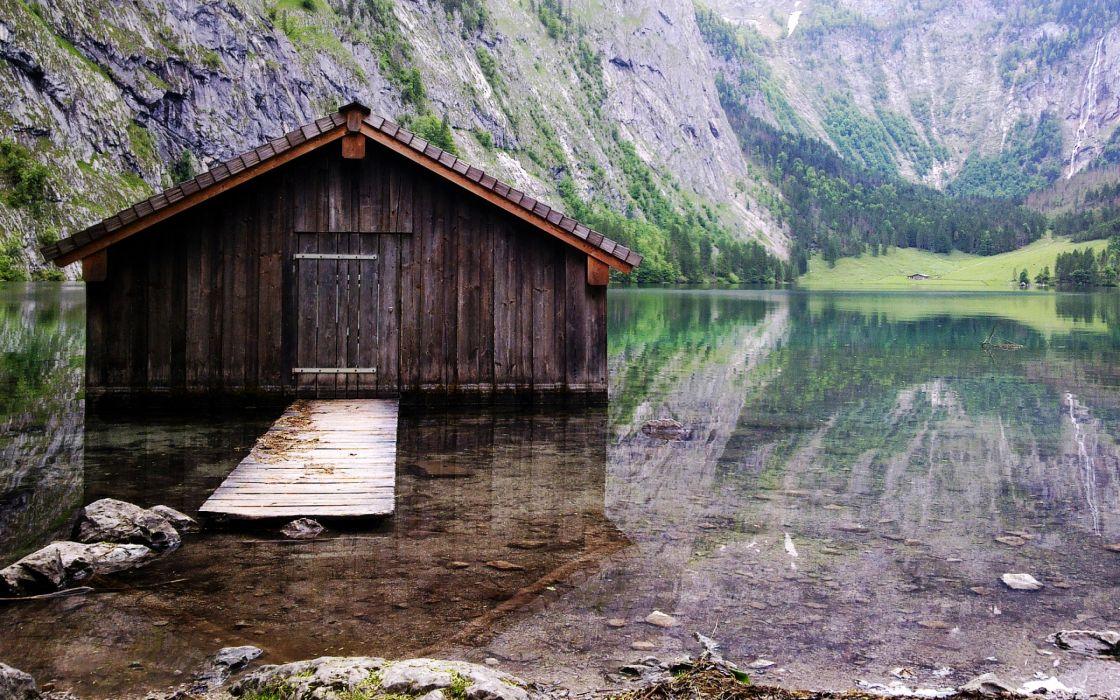 On the Lake wallpaper